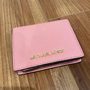 Michael Kors Pink Mini Wallet